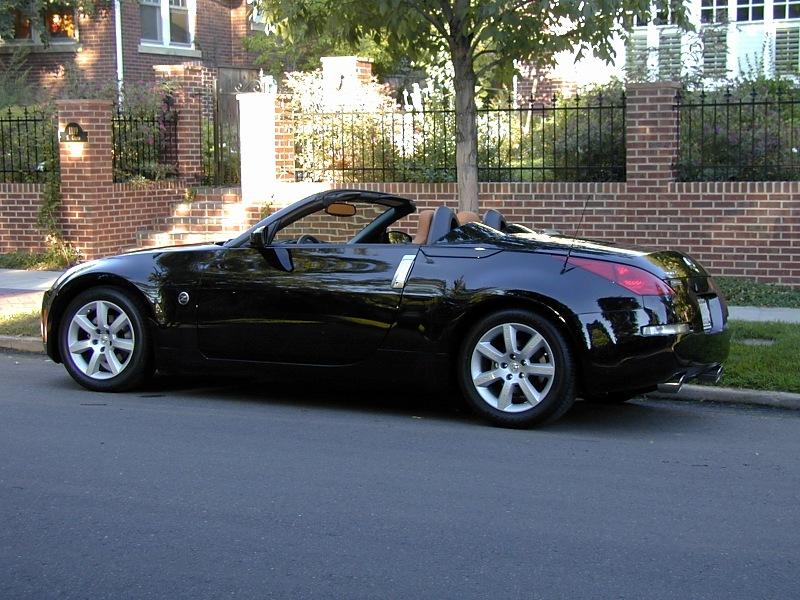 nissan 350z black convertible. nissan 350z black convertible g